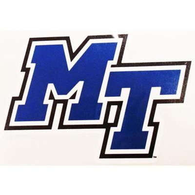 MTSU Decal MT Logo 6