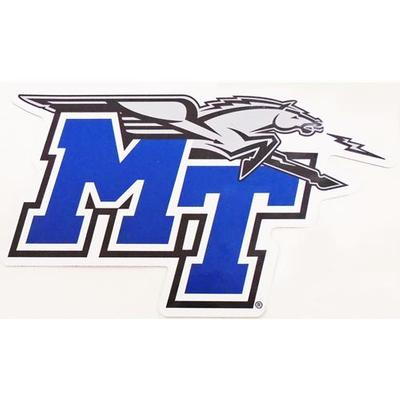 MTSU Decal MT Mascot Logo 12