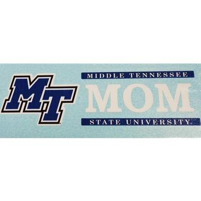 MTSU Decal Mom Block 6