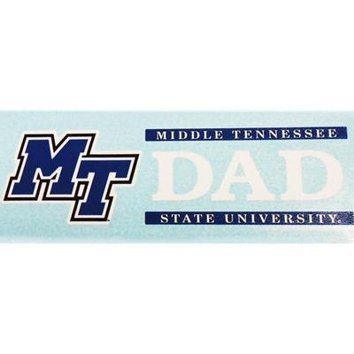 MTSU Decal Dad Block 6