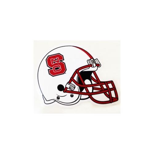 Nc State Decal Football Helmet 6