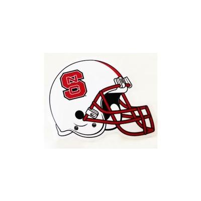 NC State Decal Football Helmet 6