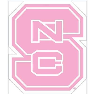 NC State Pink NCS Logo Decal 6