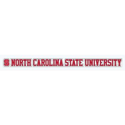 NC State University Strip Decal 20