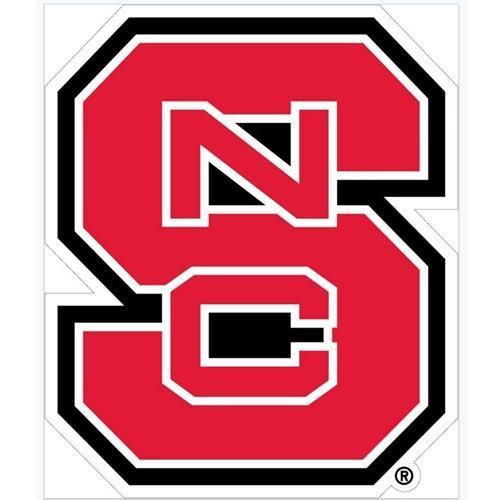 Nc State Ncs Block Logo Decal 24
