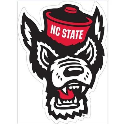 NC State Wolf Head Decal 12
