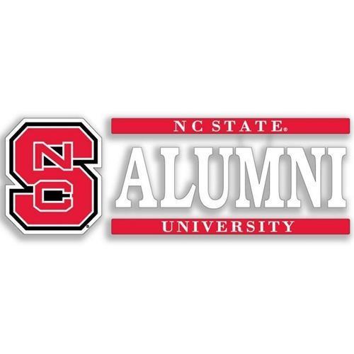 Nc State Alumni Strip Decal 6