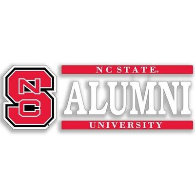NC State Alumni Strip Decal 6