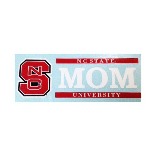 Nc State Decal Mom Block 6