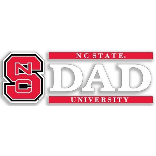 Nc State Dad Decal 6