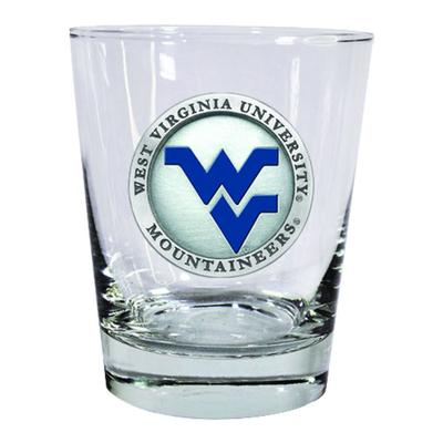 West Virginia Heritage Pewter Old Fashioned Glass
