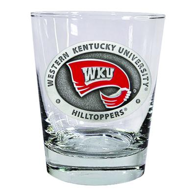 Western Kentucky Heritage Pewter Old Fashioned Glass