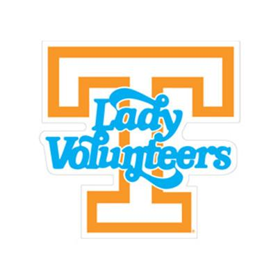 Tennessee Decal Lady Vols 6