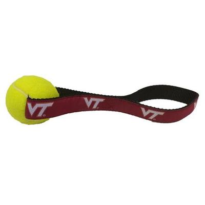 Virginia Tech Tennis Ball Toy