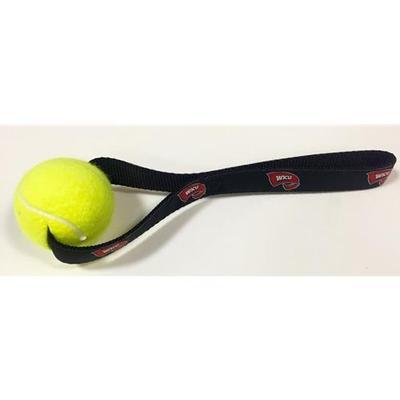 Western Kentucky Tennis Ball Dog Toy