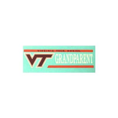 Virginia Tech Grandparent Decal