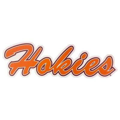 Virginia Tech Hokies Script Decal