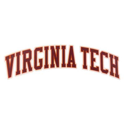 Virginia Tech Arch Decal 6