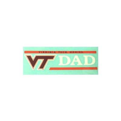 Virginia Tech Dad Decal