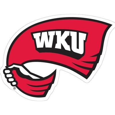Western Kentucky Decal Towel Logo 3