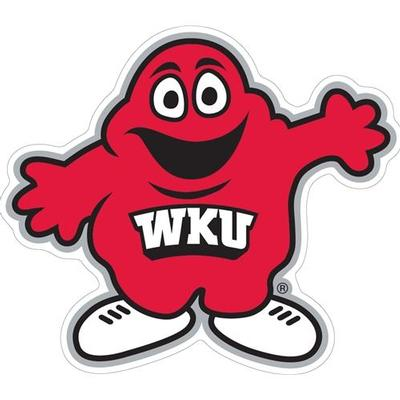 Western Kentucky Decal Big Red Logo 3