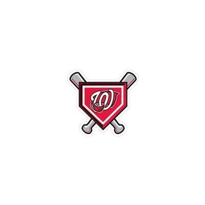 Western Kentucky Decal Baseball Plate and Bats Logo 6