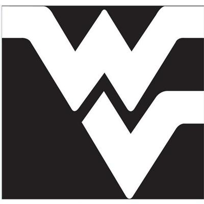 West Virginia White WV Logo Decal 6