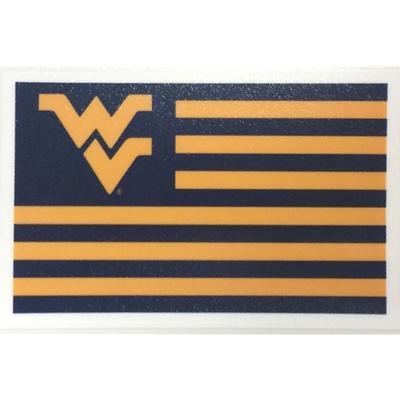 West Virginia Flag Decal 3