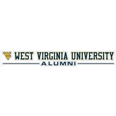 West Virginia Alumni Strip Decal 20