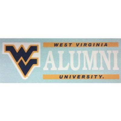 West Virginia Alumni Decal 6