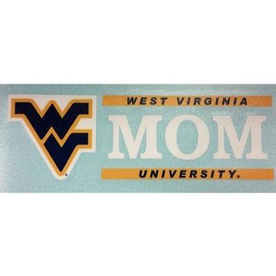 West Virginia Mom Block Decal 6