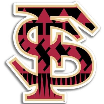 Florida State Tribal Fill Dizzler Decal 2