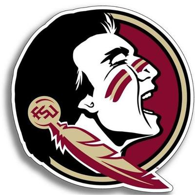 Florida State Seminole Logo Dizzler Decal 2