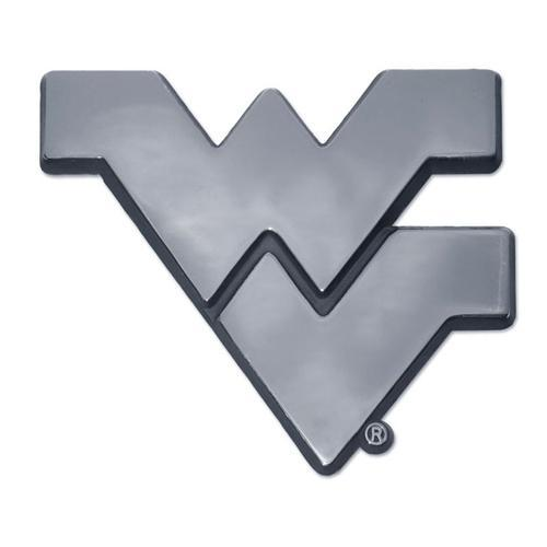 West Virginia Chrome Wv Auto Emblem