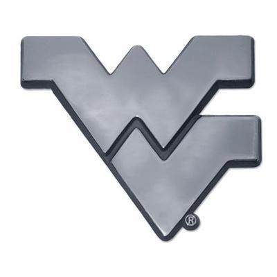 West Virginia Chrome WV Auto Emblem