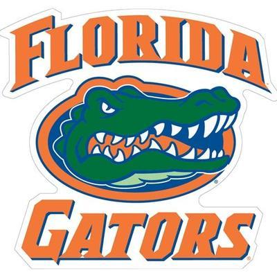 Florida Magnet Team Script/Gator Head Logo 12