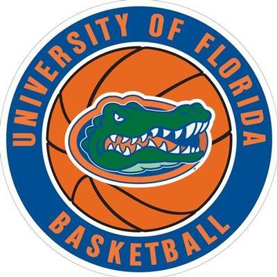Florida Magnet Circle Basketball Logo 6