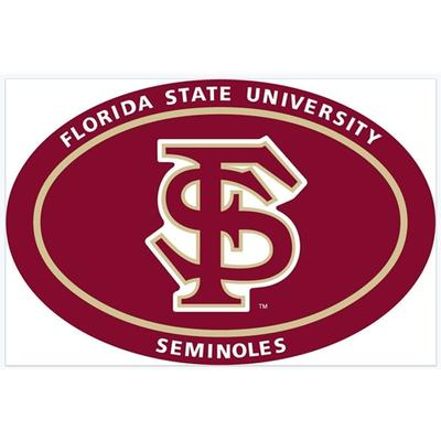 Florida State Oval Magnet 6