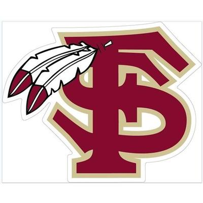 Florida State Feathered Logo Magnet 3