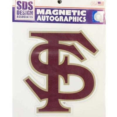Florida State Magnet FS Logo 6