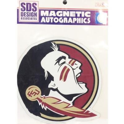 Florida State Magnet Seminole Head 6