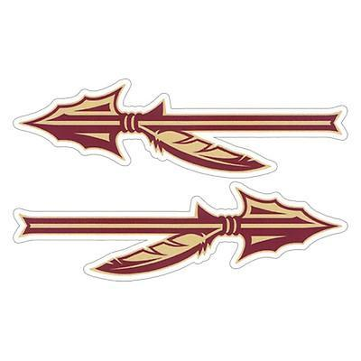 Florida State Arrow Magnets Two Pack 18