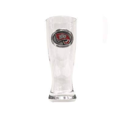 Western Kentucky Heritage Pewter Pilsner Glass