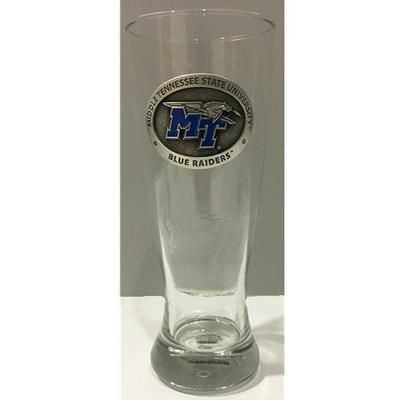 MTSU Heritage Pewter Pilsner Glass
