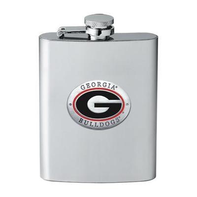 Georgia Flask Pewter