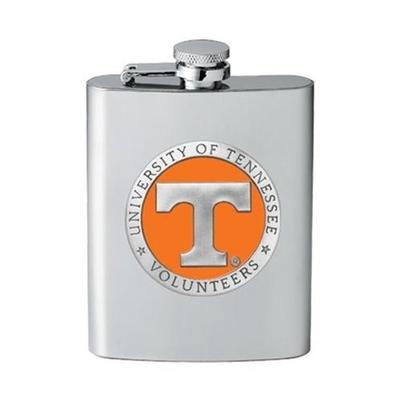 Tennessee Flask Orange Emblem