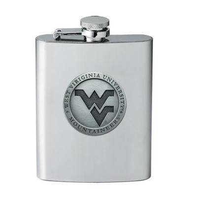 West Virginia Pewter Flask