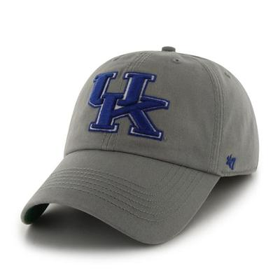 Kentucky Franchise Fitted Hat GREY/ROYAL_UK