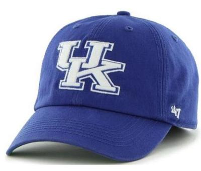 Kentucky Franchise Fitted Hat ROYAL/WHT_UK