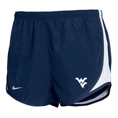 West Virginia Nike Youth Girls Temp Shorts